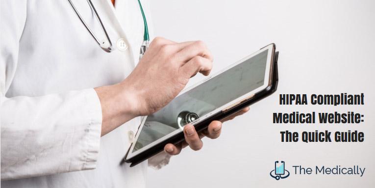 HIPPA compliant medical website